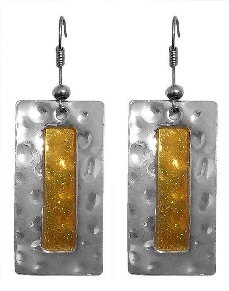 Pair of Metal Earrings