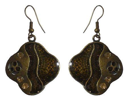 Metal Dangle Earrings