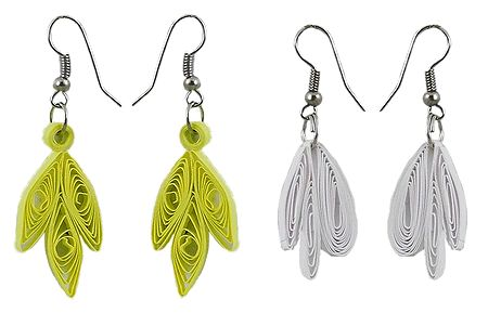 Set of 2 Paper Quilling Earrings