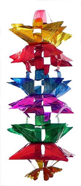 Multicolor Decorative Paper Lantern