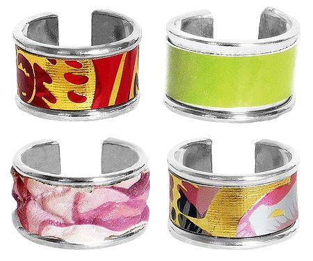 Set of 4 Adjustable Rings