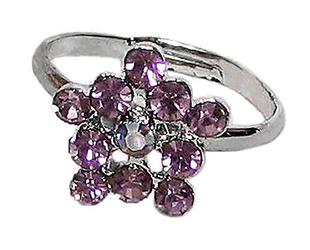 Light Mauve Stone Setting Ring