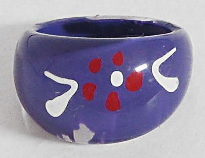 Purple Acrylic Ring