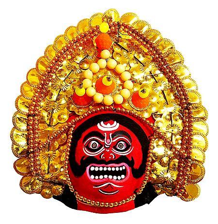 Chhau Dance Mask - Unframed Photo Print on Paper