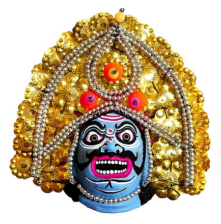 Chhau Dance Mask - Unframed Photo Print on Paper