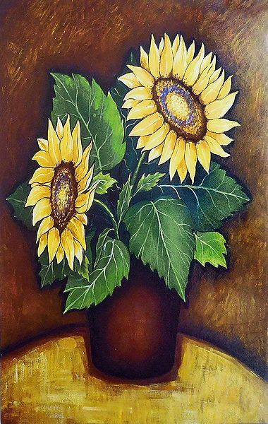 Pair of Sunflower