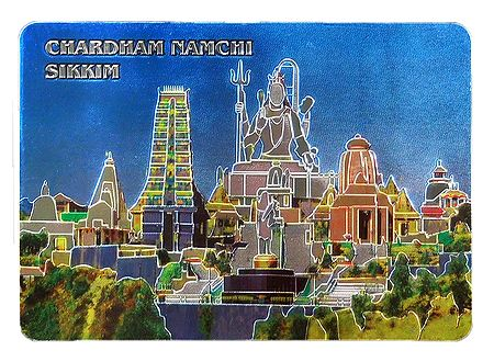 Char Dham, Sikkim - Metal Magnet
