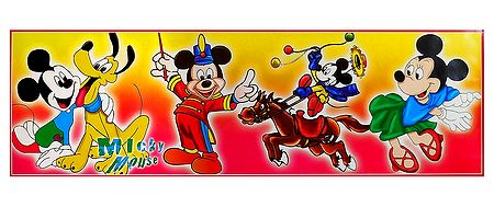 Mickey's Circus - Poster