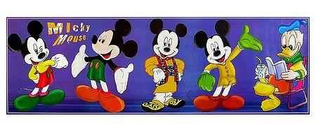 Fancy Dress of Mickey - Poster