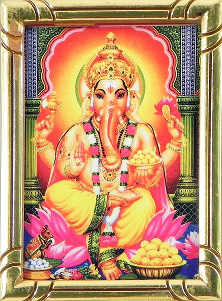 Lord Ganapati - Table Top Picture