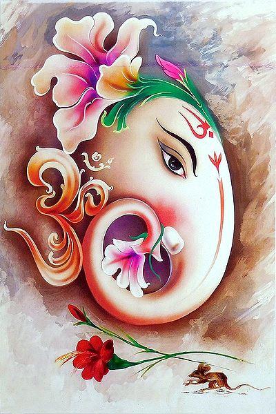 Face of Ganesha