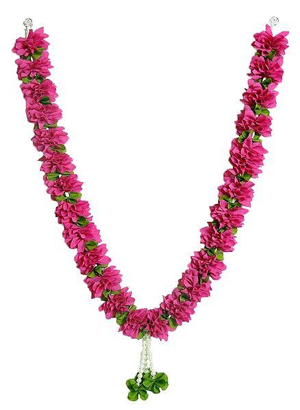 Pink Cloth Garland