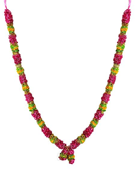 Multicolor Satin Ribbon Garland