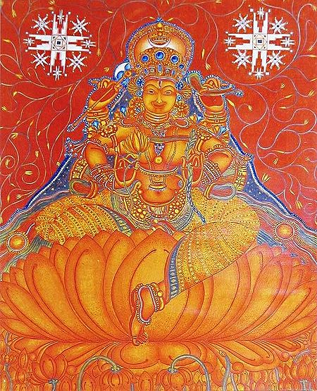Goddess Lakshmi - Goddess of Wealth