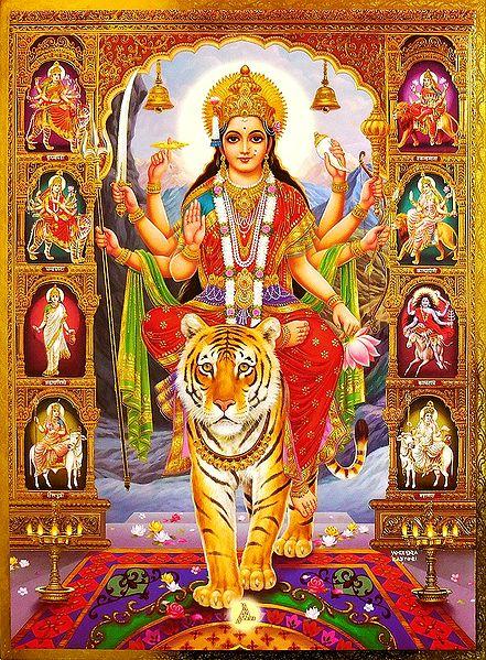 Nava Durga - Nine Forms of Devi Durga