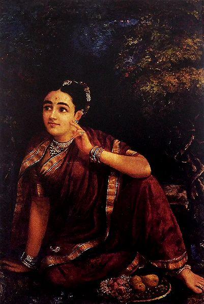 Radha Waiting for Krishna