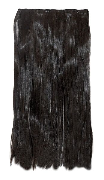 Dark Brown Clip-On Artificial Hair Extension