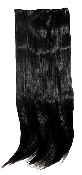 Black Clip-On Artificial Hair Extension