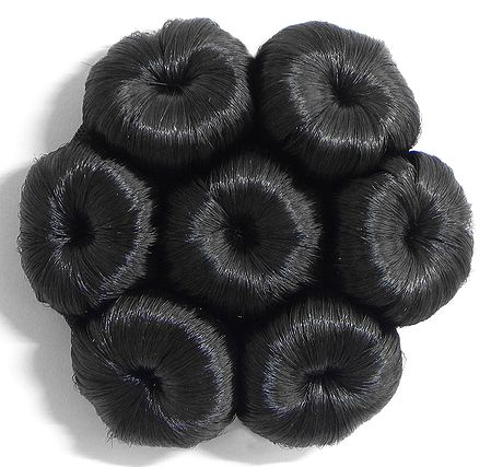 Synthetic Designer Hair Bun