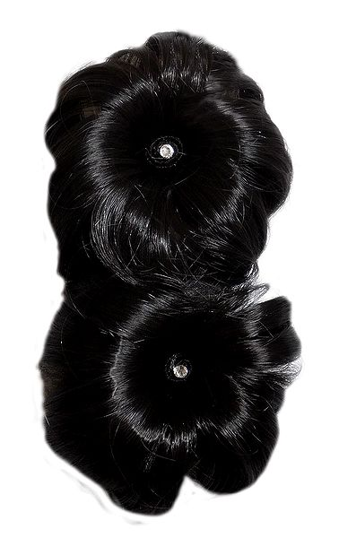 Designer Clip-on Synthetic  Hair