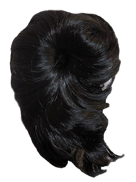 Dark Brown Hair Extension on Clip