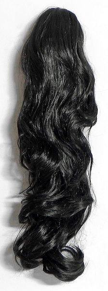 Synthetic Curly Pony Tail with Clutcher