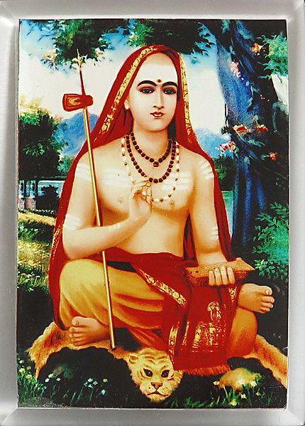 Adi Shankaracharya - Acrylic Table Stand