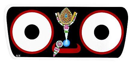 Face of Jagannathdev