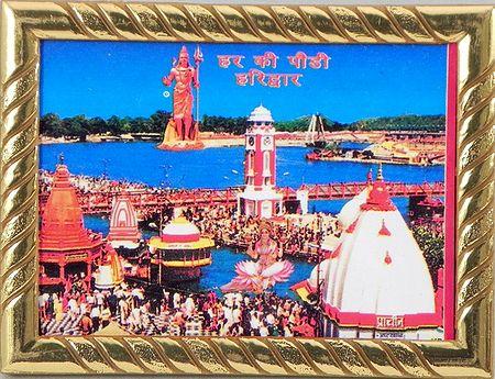 Har Ki Pauri, Haridwar - Table Top Picture