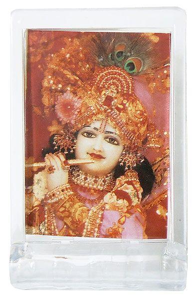 Lord Krishna - Acrylic Table Stand