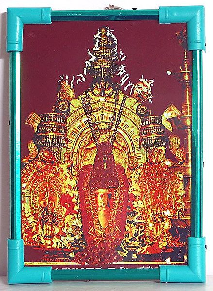 Lord Janardana - Table Top Framed Picture