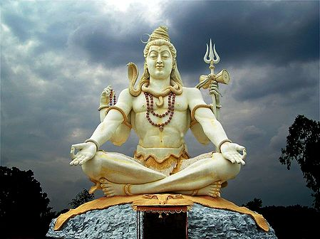 Shiva Statue in Bijapur, Karnataka