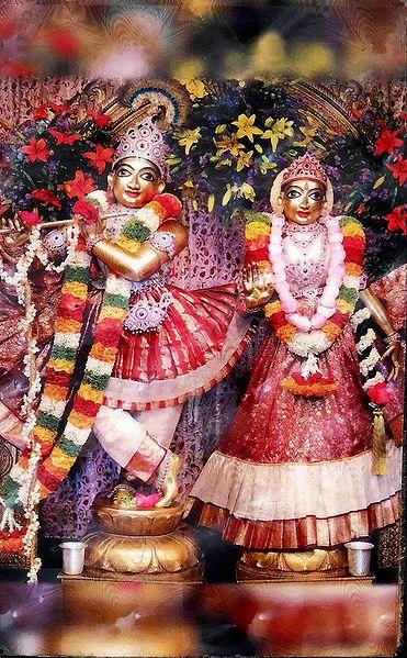 Radha Krishna - Laminated Table Top