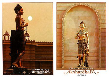 Swaminarayan in Akshardham Temple, New Delhi - 2 Small Posters