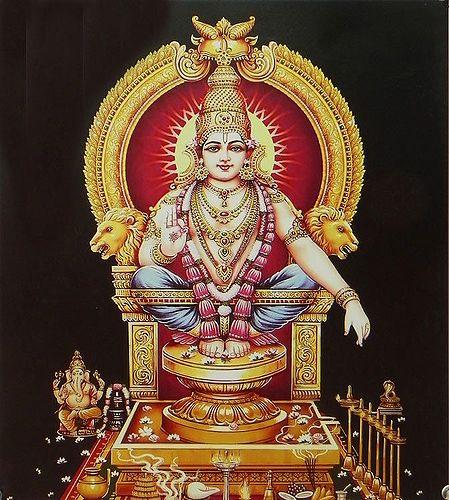 Lord Ayyappan - Son of Shiva and Mohini