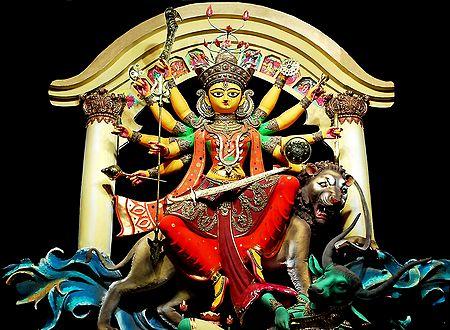 Photo Print of Goddess Durga