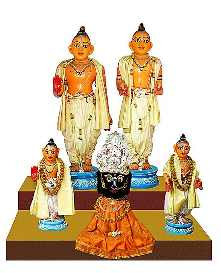 Jagannathdev with Gaur Nitai