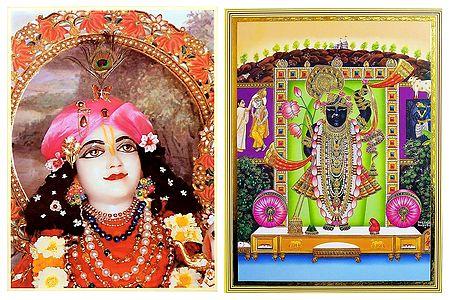 Krishna and Balaji - Set of 2 Posters
