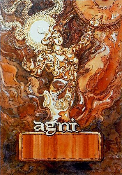 Agni - Fire God
