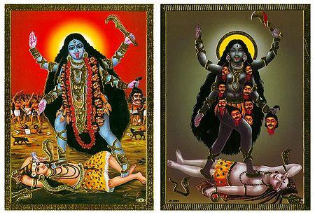 Goddess Kali - Set of 2 Posters