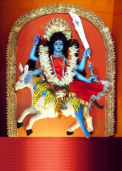 Kaalratri - the Seventh Form of Navadurga