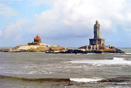Thiruvalluvar Statue and Vivekananda Rock Temple