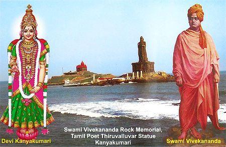 Kanykumari and Swami Vivekananda