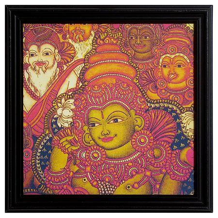 Devi Lakshmi - Wall Hanging