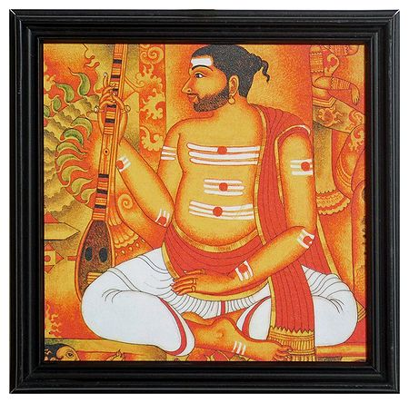 Syama Sastri - Composer of Carnatic Music - Wall Hanging
