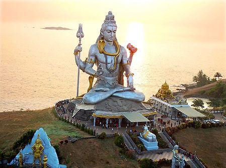 Lord Shiva in Murudeshwar, Karnataka