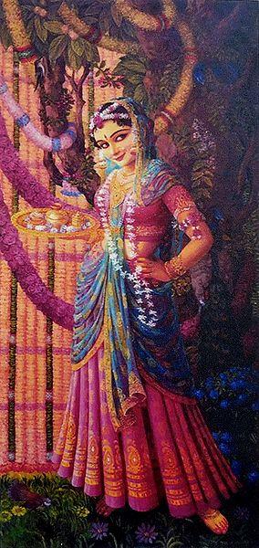 Krishna's Beloved Radha