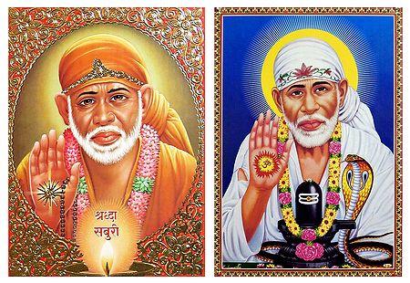 Shirdi Sai Baba - Set of 2 Posters