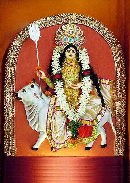 Shailaputri - the First Form of Navadurga