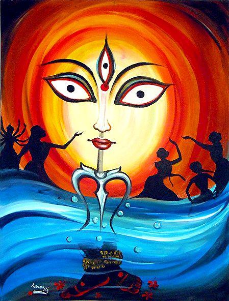 Shiva - The Cosmic Dancer - Photographic Print
